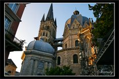 Aachen Cathedral by =serenityamidst