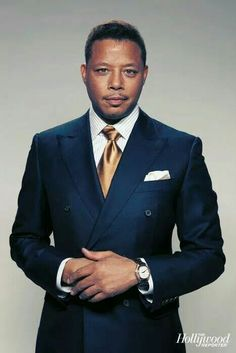 "There are only a few actors that can exude the amount of ""cool"" that actor Terrence Howard comes across on screen. And few can find where he gets it from. It's not like he hasn't had his fair share. Best Mens Fashion, Suit Fashion, Male Fashion, Sharp Dressed Man, Well Dressed Men, Hollywood Men, Black Actors, Handsome Black Men, Stylish Mens Outfits"