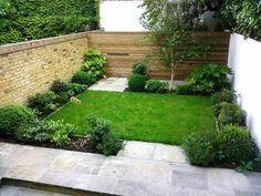 Great Simple Minimalist Indoor Garden with All Green Concept and Stone Wall Decoration Design Idea