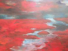 "Saatchi Online Artist Ria Kooistra; Painting, ""Breaking dawn"" #art"