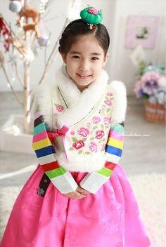 Korean Traditional Dress for Girls