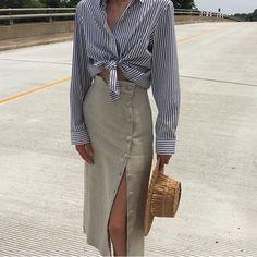 """2,270 """"Μου αρέσει!"""", 36 σχόλια - Ajaie Alaie (@ajaie_alaie) στο Instagram: """"Oh yes.. summer outfit on point  Via @naninstudio who has the Transitional skirt avail. Shirt…"""""""