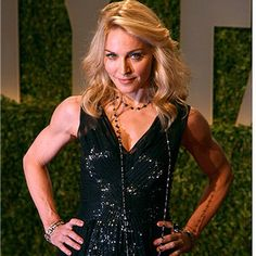 Work on my fitness more to have arms like Madonna!