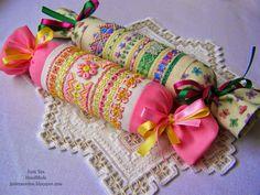 pretty cross stitch w/specialty stitches needle rolls