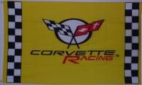 Corvette Racing Yellow 3'x 5' Flag 35