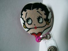 This+Betty+Boop+Retractable+ID+Holder
