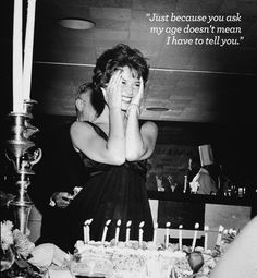Natalie Wood smiles and holds her hands to her face, standing behind her birthday cake during her surprise birthday party at Romanoff's, Hollywood. Photographed by Murray Garrett, Natalie Wood, Hollywood Star, Vintage Hollywood, Classic Hollywood, Hollywood California, Hollywood Icons, Hollywood Life, Vintage Vogue, Hollywood Glamour