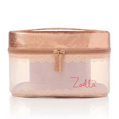 Zoella Beauty Rose Gold Vanity Case - feelunique.com