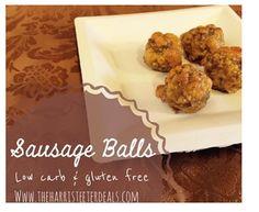 Low Carb Sausage Balls + Recipe!