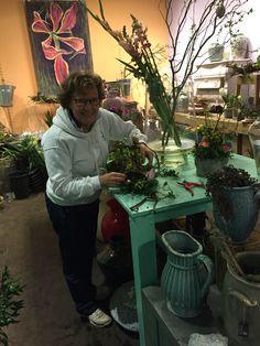 #Workshop helmi's bloemwerk #pasen #easter 2016