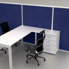 linea portika Archivos Activos. ambientacion de oficinas modernas. color azul