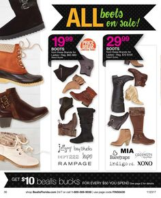Bealls Florida Black Friday 2017 Ads and Deals Browse huge deals and savings as part of the Bealls Florida Black Friday 2017 sale. Find the cheapest prices of the year on everything from fashion fo. Black Friday 2017 Ads, Timberland Boots, Coupons, Florida, Lady, Womens Fashion, Style, Coupon, Women's Clothes