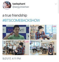 Yoongi predebut true friends BTS