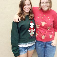 DIY Jackhammer Santa Tacky Ugly Christmas Sweatshirt