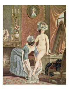 La toilette, Nicolas Jollain, engraved by Bonnet
