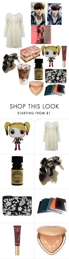 """""""luhan-exo"""" by chanbaek614 ❤ liked on Polyvore featuring Funko, Miss Selfridge, Accessorize and Too Faced Cosmetics"""