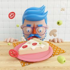 Colorful 3D Illustrations