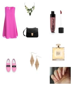 """Pink dreamer"" by martens-ingrid on Polyvore featuring мода, Sans Souci, Joshua's, MANGO, Treasure & Bond, Wet n Wild, Pink, dress и fashionset"