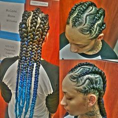 Love the creativity in this style done by #LABriader @k2braids So neat #voiceofhair