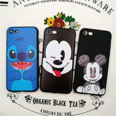Luxury Brand Cartoon Stitch Mickey Minions Cat Starbuck soft Case For iphone 5/5s SE 6 6s plus 7 7 Plus cover Capa funda coque-in Phone Bags & Cases from Phones & Telecommunications on Aliexpress.com | Alibaba Group