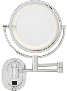 10x1x natural light wall mirror furniture pinterest lighted wall mounted magnifying mirrors for bathrooms google search aloadofball Image collections