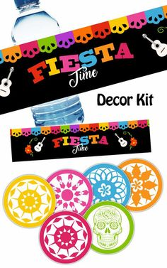 COCO LABELS Coco Decor Kit Coco ToppersCoco Food TentsCoco