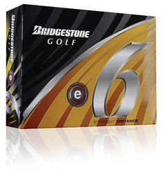 Bridgestone E6 White Golf Balls, 1 Dozen (2011 Model) by Bridgestone. $22.41. Are you spending too much time in the woods looking for errant shots? Take advantage of the new e6, the softest multi-layer golf ball on the market, providing significant side spin reduction to minimize slice or hook spin, helping you hit the ball straighter and longer. New Dual Dimple Technology also provides improved distance performance. The inside dimple works to increase thrust power at launch wh...