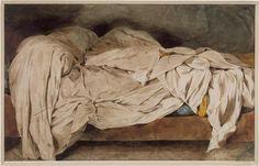An unmade bed,    Eugène Delacroix (1798-1863) /   Paris, musée Eugène Delacroix