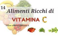 Alimenti Vegetali Ricchi di Vitamina C La VITAMINA C aiuta ad assorbire il ferro contenuto negli alimenti a disintossicare il corpo dai me vitamina c alimenti vegetali ferro