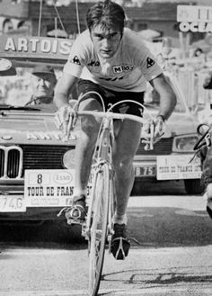 Luis Ocana on stage 8, on his way to winning his first Tour de France in 1973.