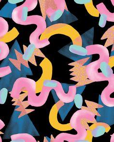 Junk Food, pattern variation, 2016.