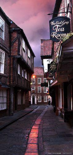 The Shambles, York, England, UK