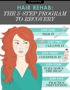 Hair Rehab: The 5-Step Program for Healthy Hair