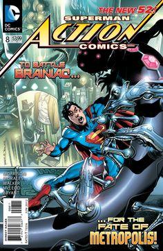 Comic Book Review: 'Action Comics' #8