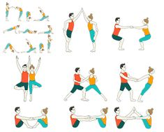 Partner Yoga Sequence - Yoga Sequences for Teenagers with Partners This sequence covers beginner level yoga poses that are practiced in pairs to make the yoga class lively and interactive! Golden Seed Yoga Sequence has been added at the end of this sequen Ashtanga Yoga, Iyengar Yoga, Bikram Yoga, Yoga Girls, Yoga For Kids, Yoga Meditation, Yoga Flow, Prenatal Yoga, Restorative Yoga