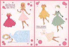 Glinda: Muñeca Recortable para Imprimir Gratis.