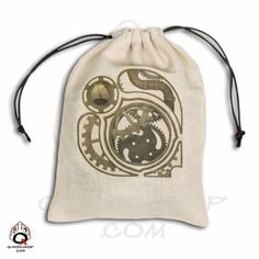 Large Steampunk Dice bag