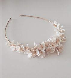 Beautiful Bridal Hair Accessories handmade with love and detail Bangles, Bracelets, Cold Porcelain, Bridal Hair Accessories, Detail, Handmade, Beautiful, Jewelry, Fashion