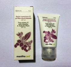 FACE CREAM CC WITH MASTIHA & KAKADU PLUM SPF 20 40 ml