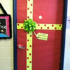 My classroom door ~ Christmas! Christmas Classroom Door, Preschool Christmas, Christmas Art, All Things Christmas, School Door Decorations, Christmas Door Decorations, Class Decoration, School Doors, Dorm Door