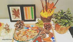 PEQUEfelicidad: CÓMO FABRICAR UN RINCÓN DE OTOÑO (al estilo Montessori) Land Art, Montessori, Toddler Learning, Reggio Emilia, Painting, Autumn, Babyshower, Environment, Blog