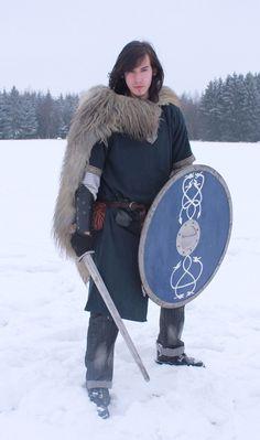 Nordic Warrior by Liancary-Stock.deviantart.com on @deviantART