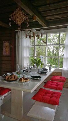 Saarimökki Pohjois-Karjalassa. | mökillä