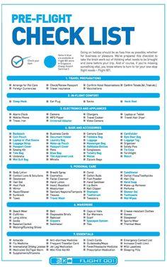 Best Pre-Flight Checklist For International Travellers - AspirantSG