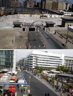 Friedrichstr. 1985 & 2014.