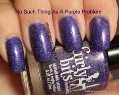 Glittery Fingers & Sparkling Toes: Girly Bits: No Such Thing as a Purple Problem