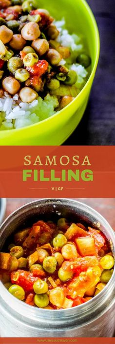 This spicy samosa filling will keep you warm on a chilly night after a long day of outdoor adventure. Vegan and gluten free.