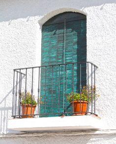 Balconies of Nerja Balconies, Outdoor Structures, Street, Verandas, Walkway