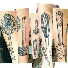 36 idées de tatouages pour les gourmands