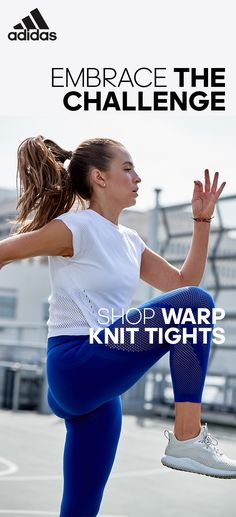 For seamless tights built for comfort, experience the warp knit tights by adidas. Combining comfort, durability and climacool, our one-piece knitted construction and compression fit offers you the perfect mix between style and support.